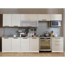 "Virtuvinis Komplektas ""Prestige"" su mikrobangų krosnelės spinta 2200 mm"